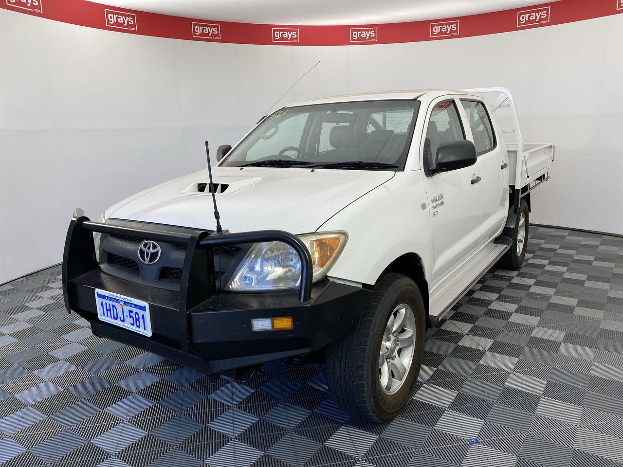 2007 Toyota Hilux SR (4x4) KUN26R Turbo Diesel Manual Dual Cab