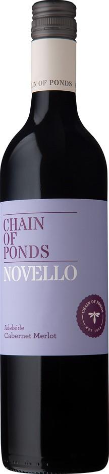 Chain of Ponds Novello Cabernet Merlot 2019 (12 x 750mL) Adelaide, SA