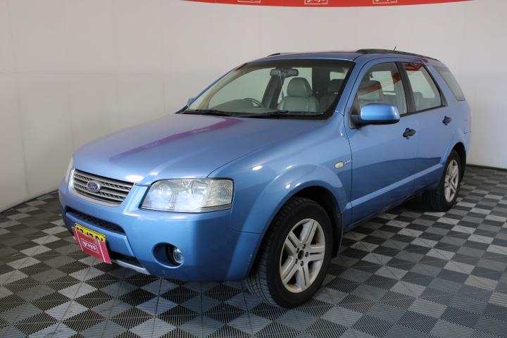 2005 Ford Territory Ghia (4x4) SX Automatic 7 Seats Wagon
