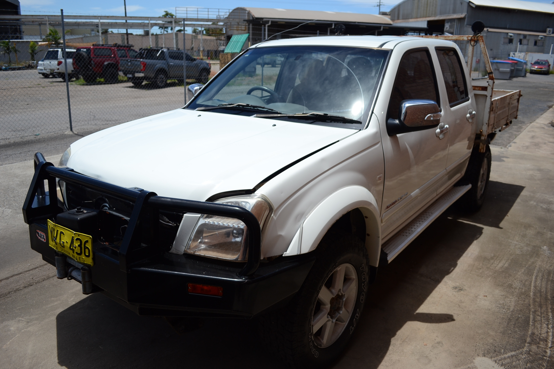 2004 Holden Rodeo LT (4x4) RA Manual Dual Cab