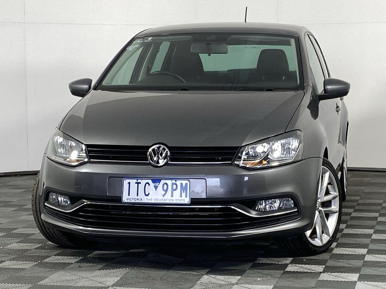 2015 Volkswagen Polo 81TSI COMFORTLINE 6R Automatic Hatchback