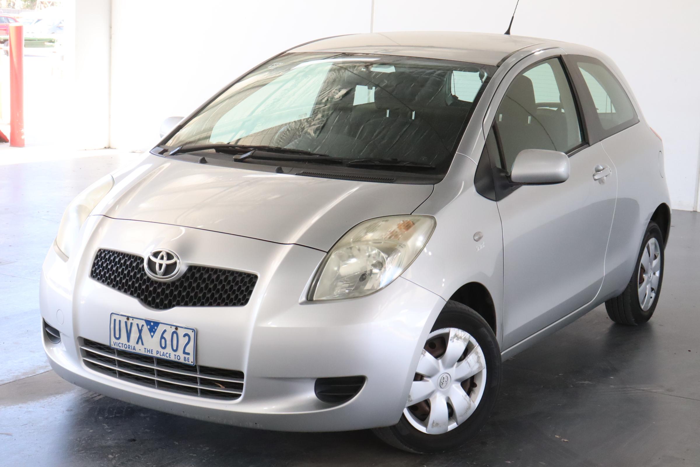 2007 Toyota Yaris YR NCP90R Automatic Hatchback