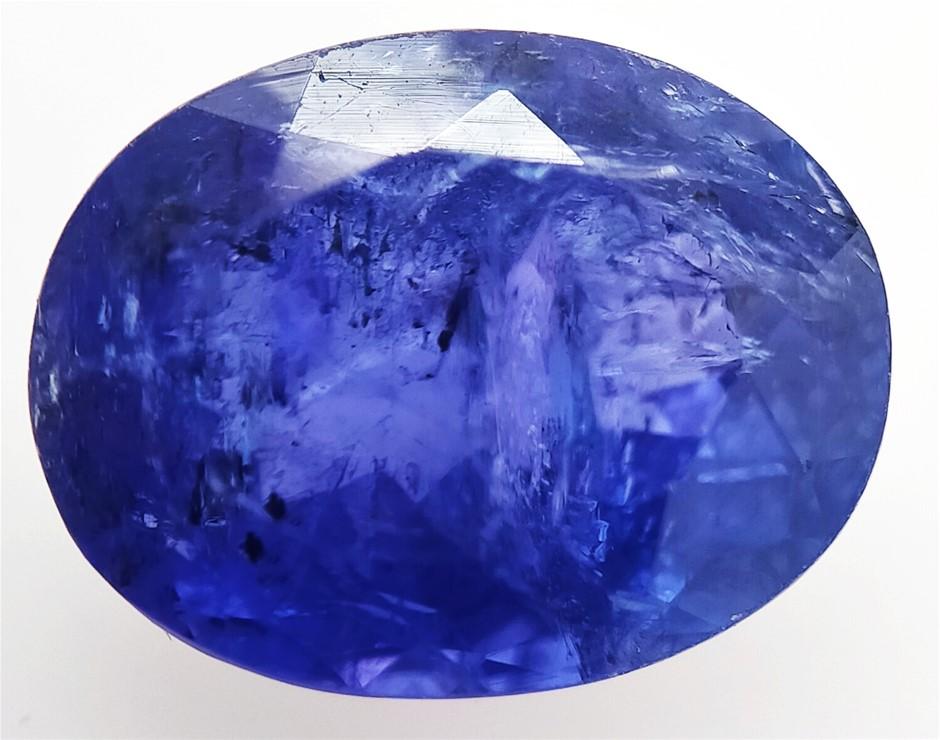 5.10 Carat Blue Tanzanite