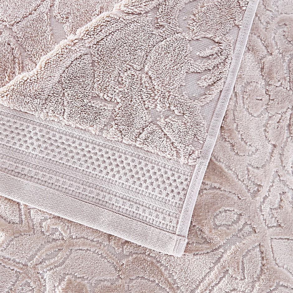 3 x CHARISMA Bath Towel, 100% Cotton, 76cm x 1.47m, Beige. (SN:CC71234) (27