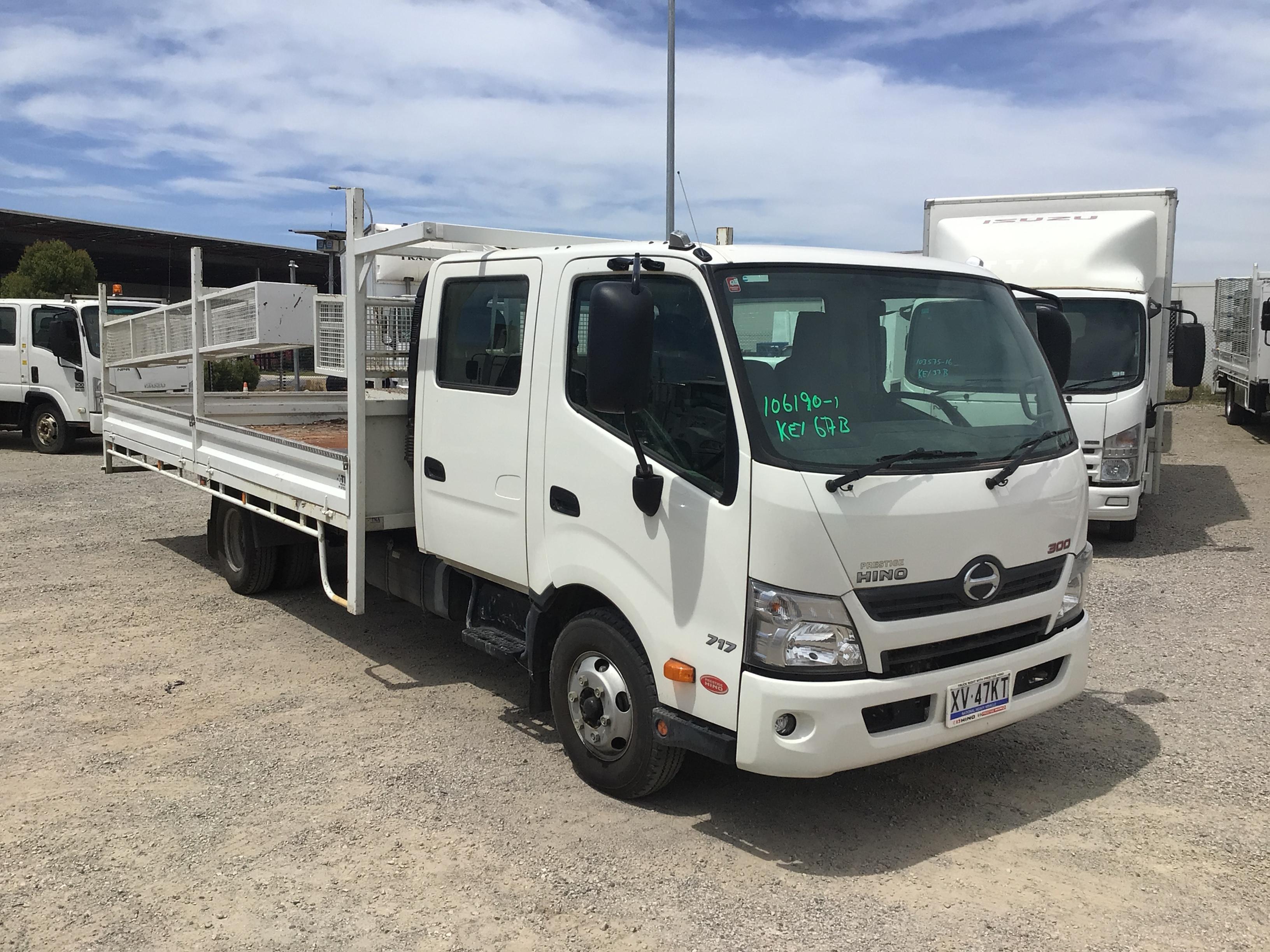 2019 Hino 300 4 x 2 Tray Body Truck