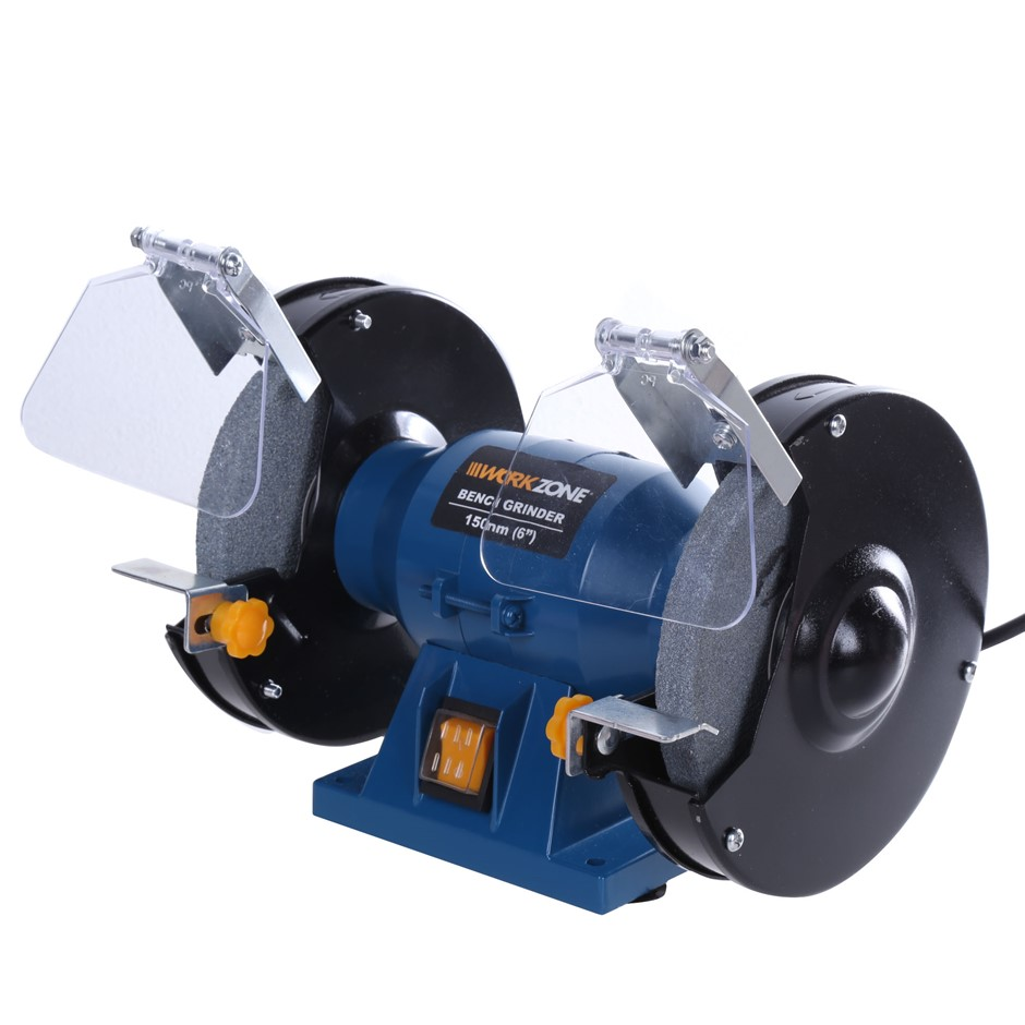 14 x Leading Retail Brand 150mm Double End Bench Grinder, 150W Motor. (SN:A