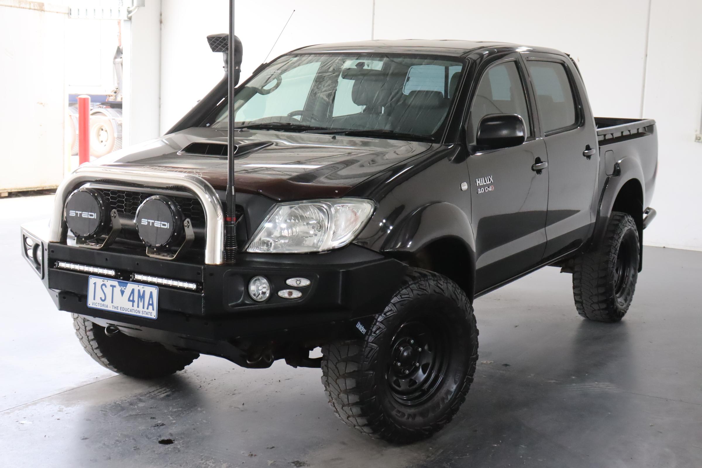 2010 Toyota Hilux SR (4x4) KUN26R Turbo Diesel Automatic Dual Cab