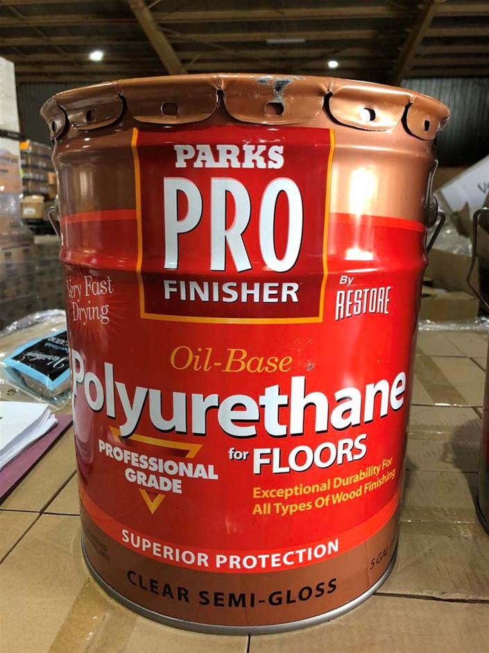 1 x 5-Gal Polyurethane Floor paint