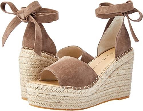 SKIN Women`s Georgia Shoes, Soft khaki suede, Color: Grey, Size: 41 EU. Buy