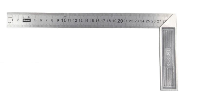 2 x BERENT Square Rulers 500mm. Buyers Note - Discount Freight Rates Apply