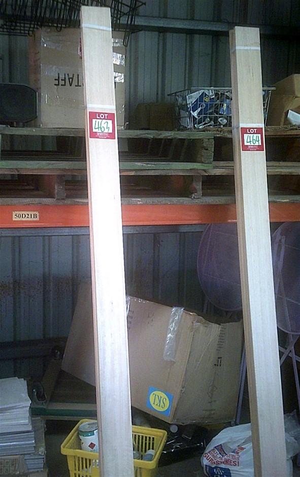 Tasmanian Oak Door Jamb Set. Suits 2040mm x 820mm doors.