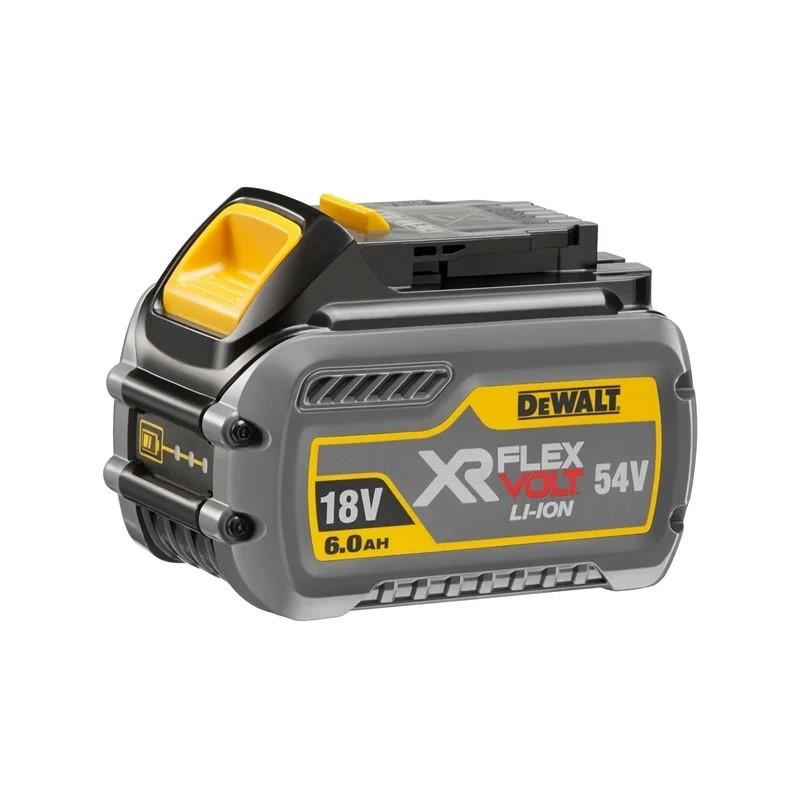 DEWALT 18V 6.0Ah/54V XR Flexvolt Battery. N.B. Does not turn on. Limited fu