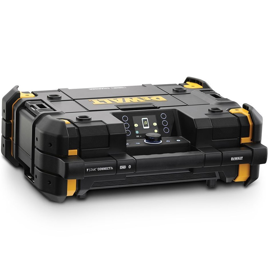 DEWALT 18V-54V XR Li-ion Cordless Bluetooth Charger DAB Digital Jobsite Rad