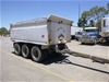 2000 Evertrans P3 Tri Axle Pig Trailer