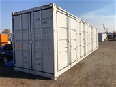 Unreserved Unused 2020 40ft Side Opening Container - Sydney