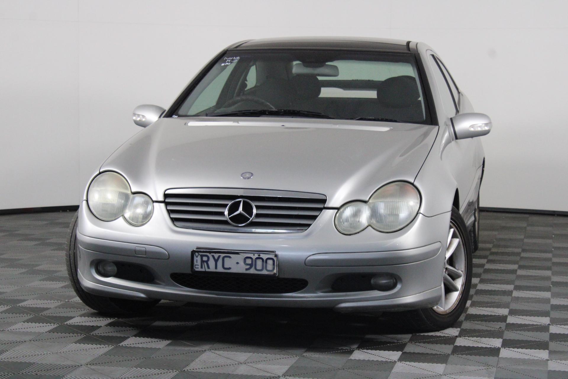 2002 Mercedes Benz C180 Kompressor CL203 Automatic Coupe