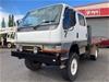 1999 Mitsubishi FG637 Canter 4 x 4 Hooklift Truck/Camper - NT