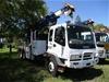 2001 Isuzu FY FVZ 6 x 4 Crane Borer Truck