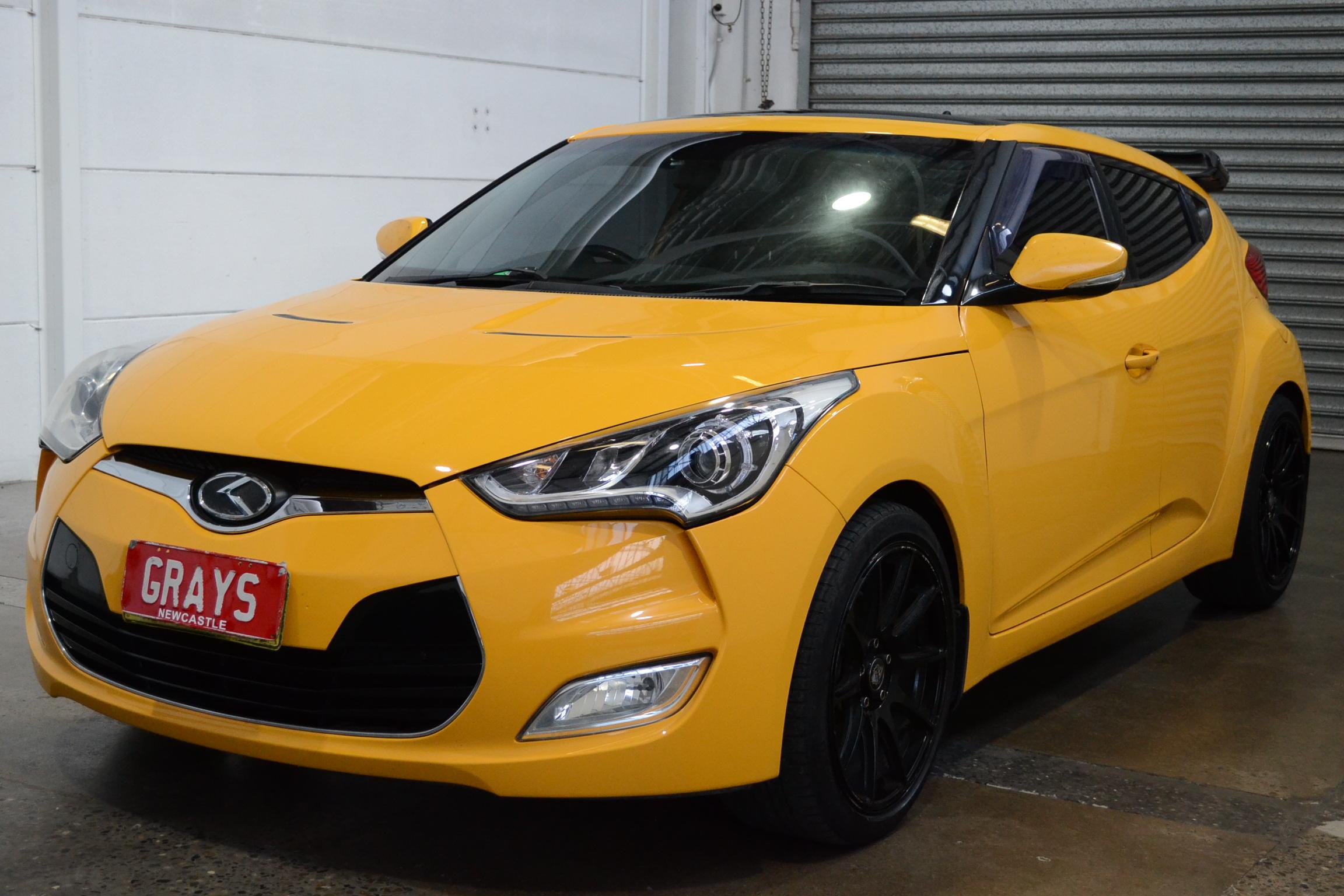 2012 Hyundai Veloster + FS Automatic Coupe