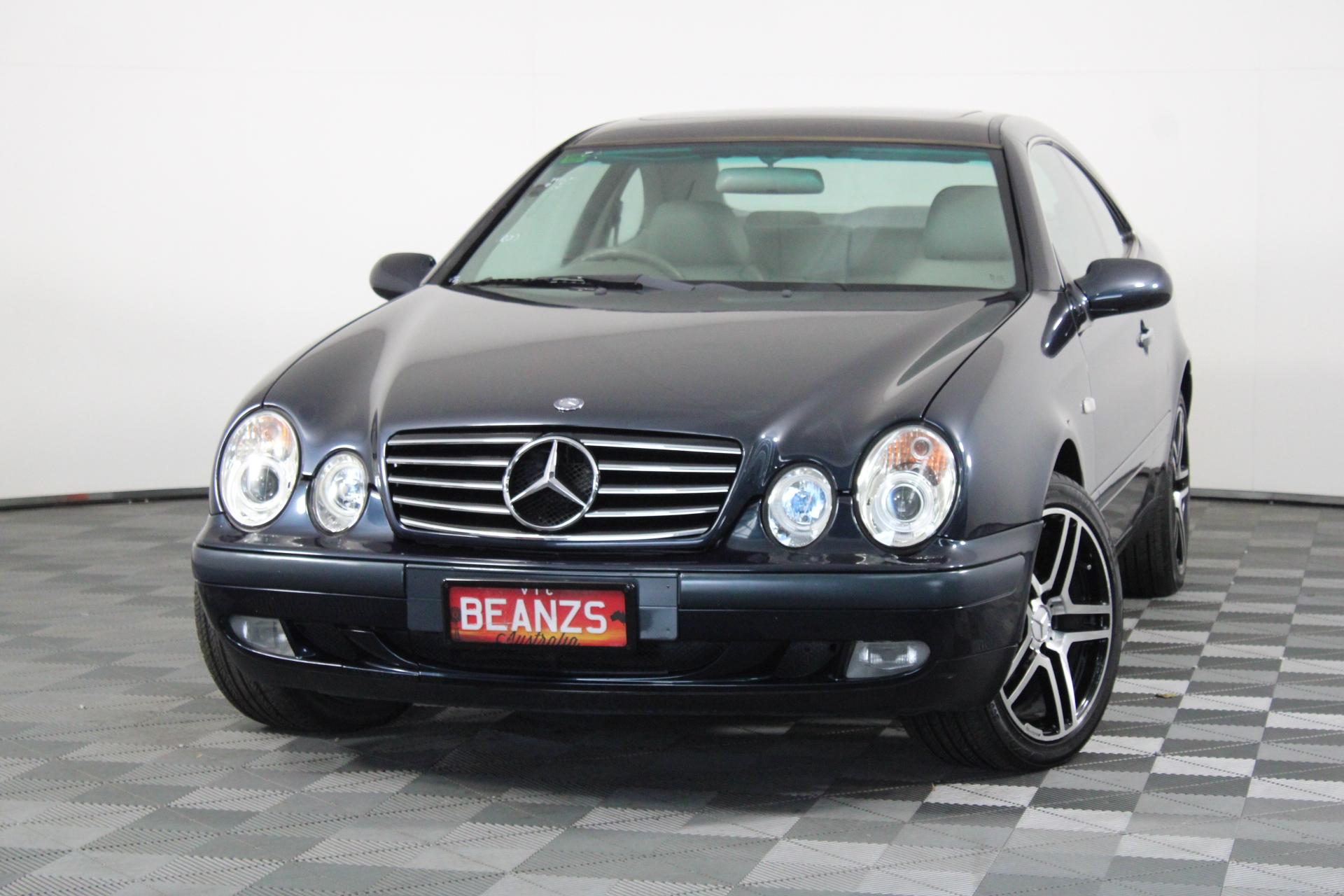 1999 Mercedes-Benz CLK230 Kompressor Elegance C208 Automatic Coupe