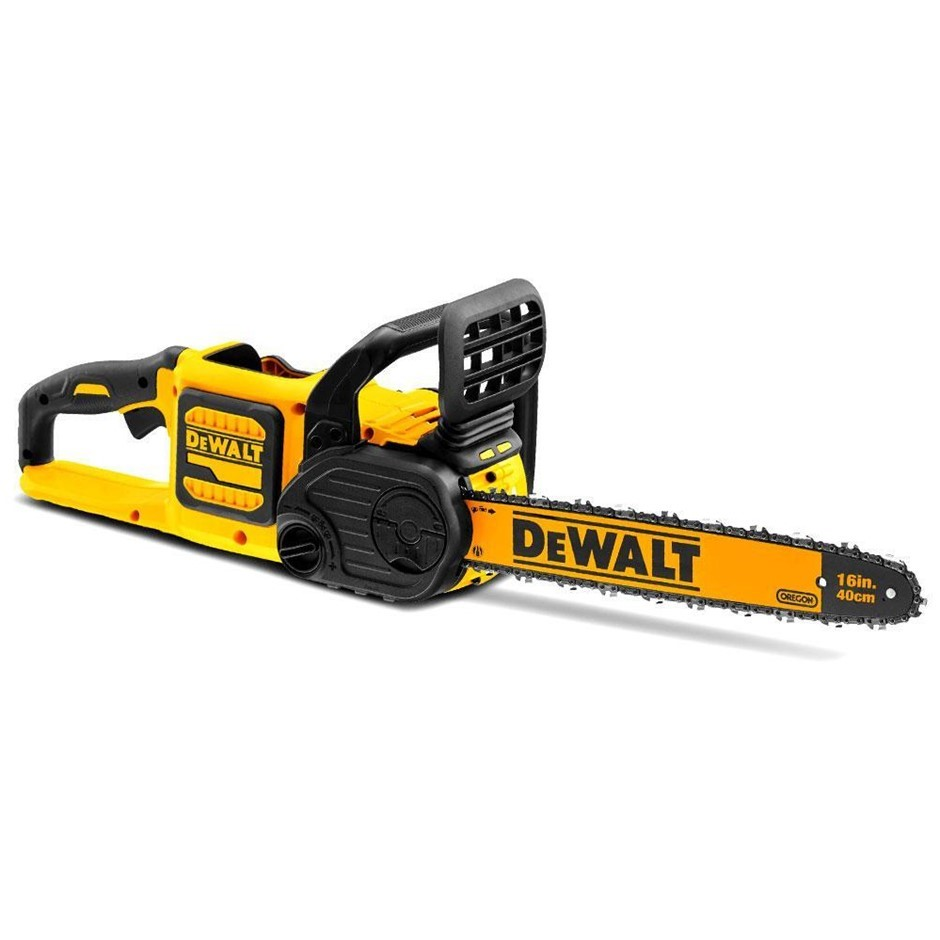 DEWALT 54V XR FlexVolt 40cm Chainsaw. Skin Only. N.B. Power on test passed.