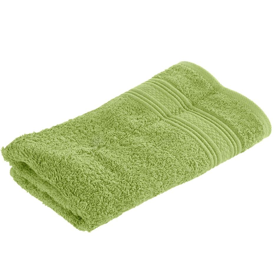 10 x BAMBURY Libra Towel Range Hand Towels, Light Green. 100% Cotton. 40 x