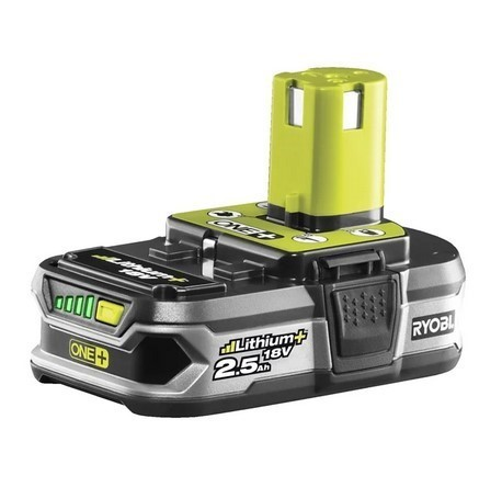 RYOBI 2.5Ah Lithium + Battery. Buyers Note - Discount Freight Rates Apply t