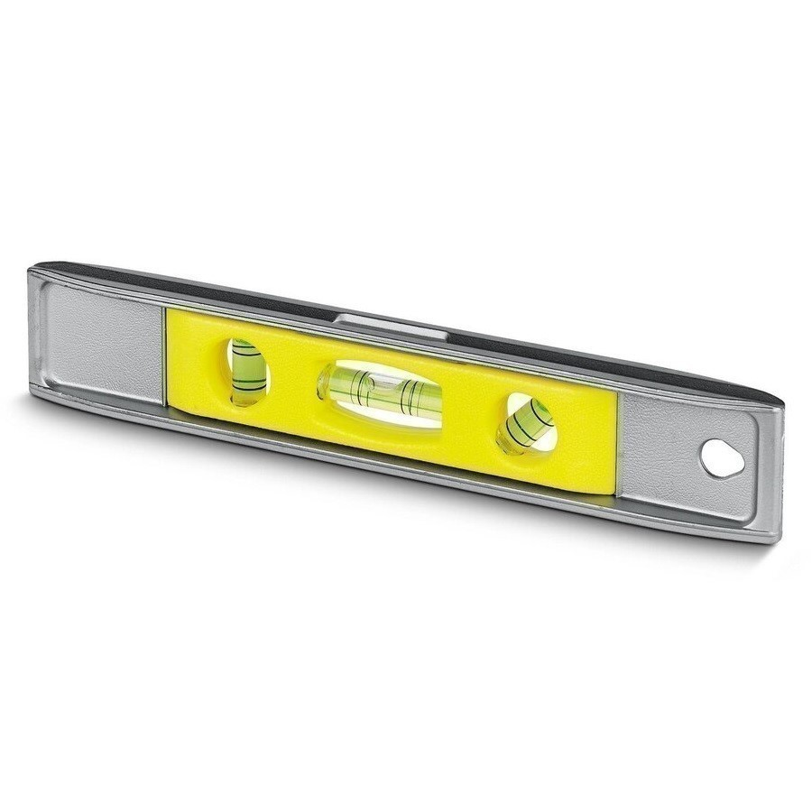 2 x STANLEY Torpedo Levels, Cast Aluminium Body with 3 Vials and Magnetic B
