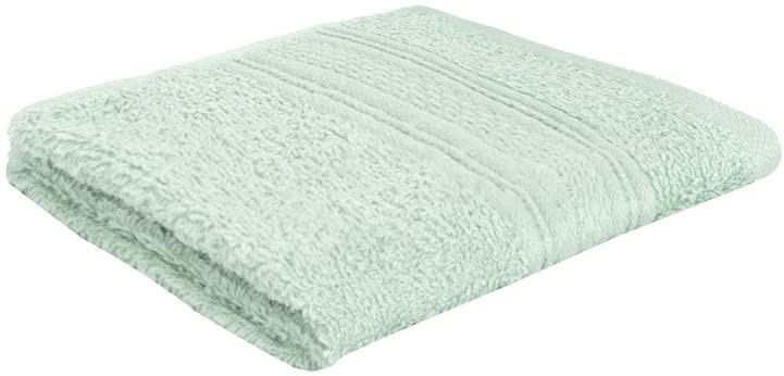 20 x BAMBURY Libra Towel Range Face Washer Pack (6), Light. Green 100% Cott