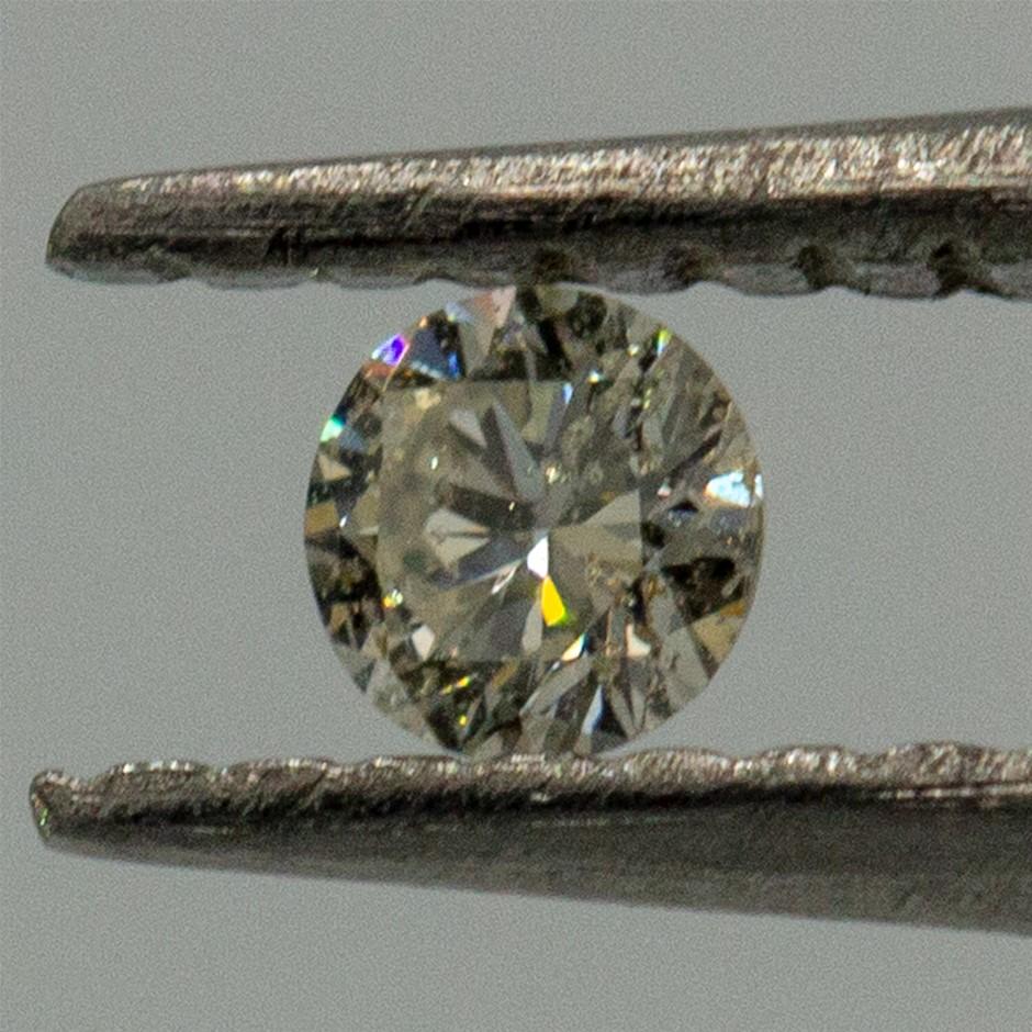 0.04ct Loose Diamond