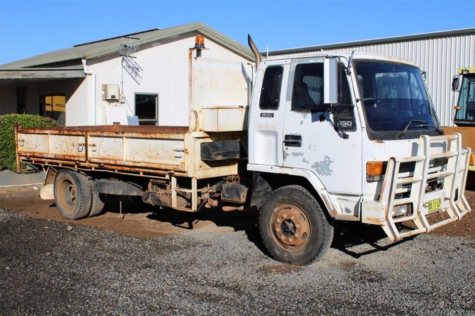 1992 Isuzu 650 4x2 Tipper Truck
