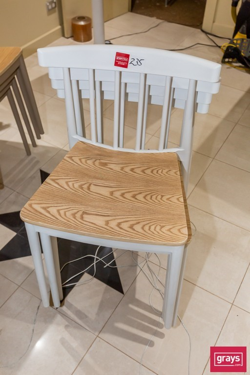 Design Choice 4x Timber & Poly Dinning Chair