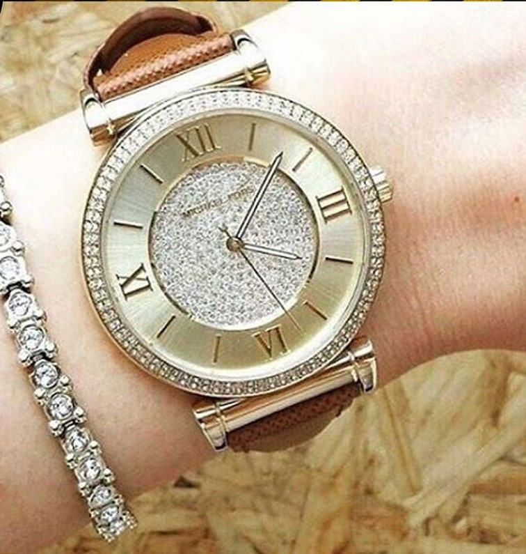 Never worn Michael Kors Couture NY 'Catlin' very glamorous ladies watch,