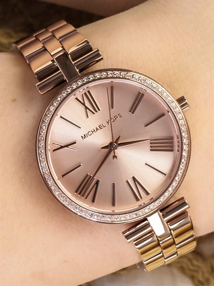 New Michael Kors Couture NY 'Maci' stunning fery feminine quartz watch.
