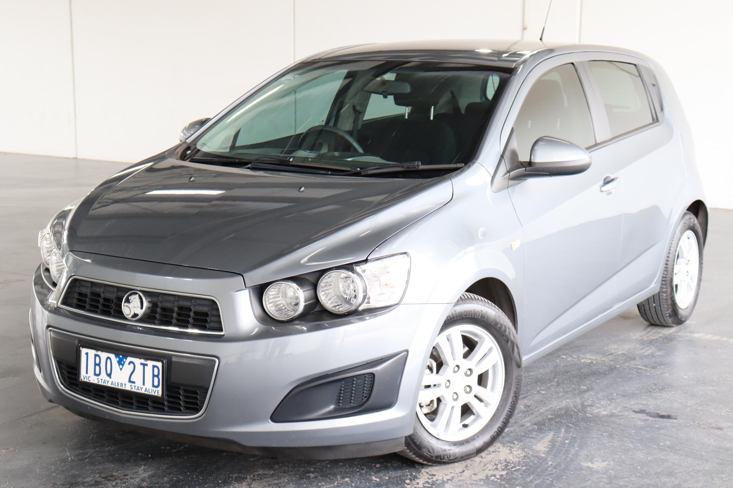 2014 Holden Barina TM Automatic Hatchback