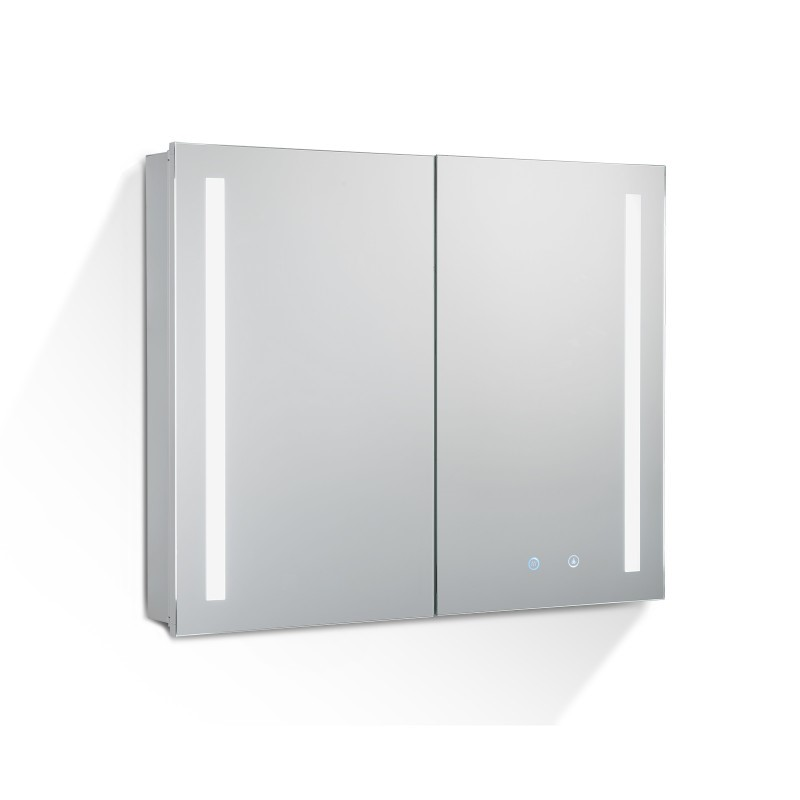 750Lx720Hx135Dmm Pencil Edge LED Cabinet with Mirror Touch Sensor Switch