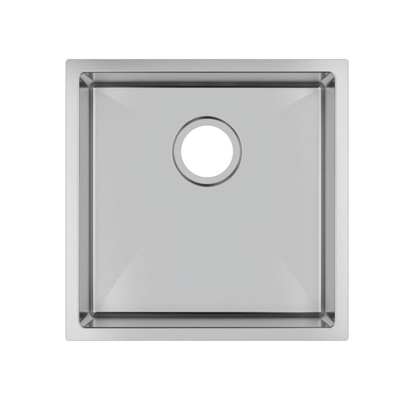 Handmade Single Bowl Top/Undermount Kitchen/Laundry Sink 440x440x205mm