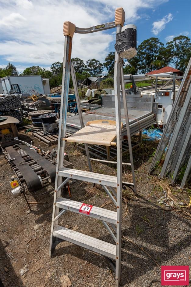 Gorilla Alloy 3 Step Ladder with Platform