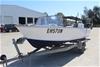 Aluminium Runabout Boat and Galvanised Tilt Trailer