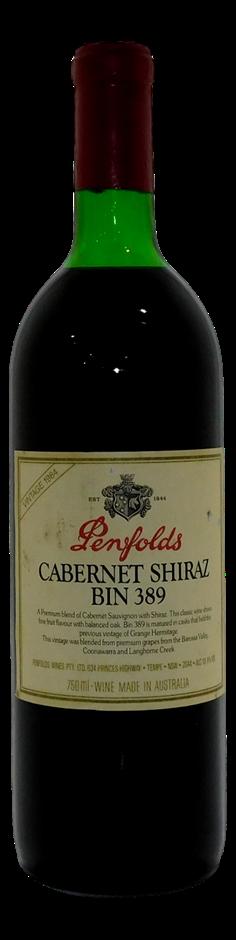 Penfolds Bin 389 Cabernet Shiraz 1984 (1x 750mL), SA