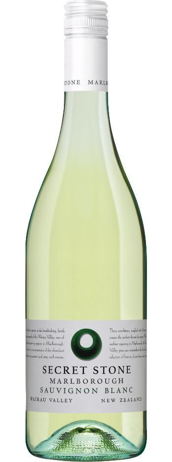 Secret Stone Sauvignon Blanc 2020 (6x 750mL), Marlborough, NZ