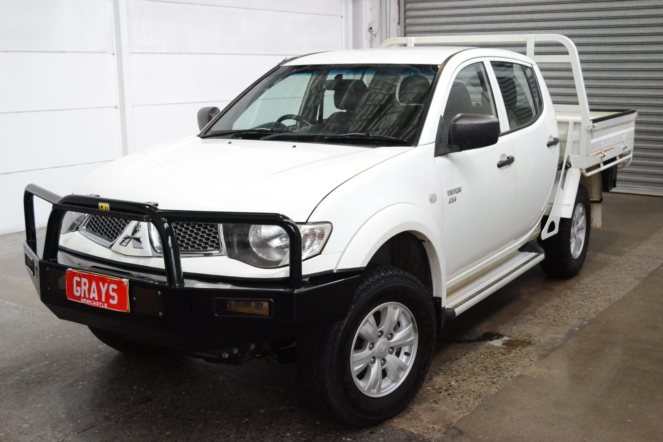 2012 Mitsubishi Triton GL-R (4x4) MN Turbo Diesel Manual Dual Cab