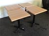 <p><b>Qty 4 x Cafe Tables</b></p>