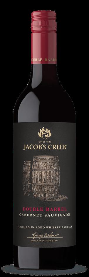 Jacobs Creek Double Barrel Cabernet Sauvignon 2016 (6 x 750mL), SA.