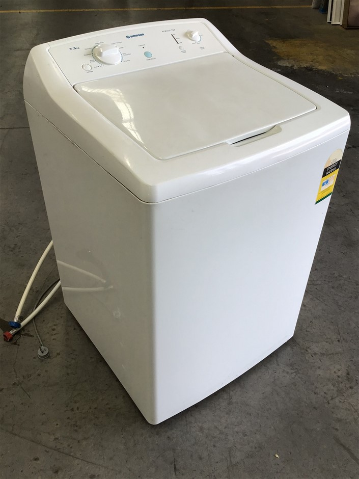 Simpson 7.5kg Top Load Washing Machine - Model 22S750M