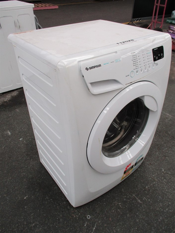 Simpson SWF14743 7kg EZI Front Load Washing Machine