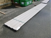 25 x Sheets of Grey 6000mm Trimdek (New Condition - Unused)