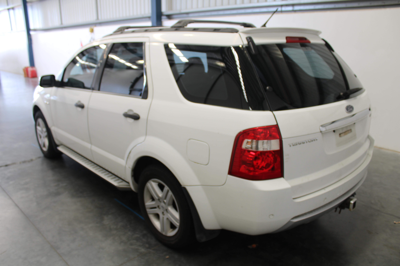 2007 Ford Territory Ghia (4x4) SY Automatic 7 Seats Wagon