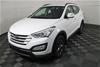 2012 Hyundai Santa Fe Active DM Turbo Diesel Automatic 7 Seats Wagon