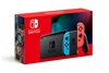 NINTENDO Switch Console Set with Neon Joy-Con. N.B. Has been used. Parental